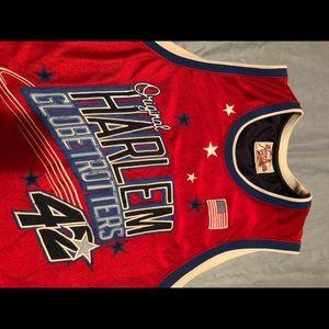 Original Harlem Globetrotters stitched number 42